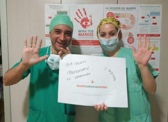 El Área Sanitaria Norte de Córdoba celebra con actividades el Día Mundial de la Higiene de Manos