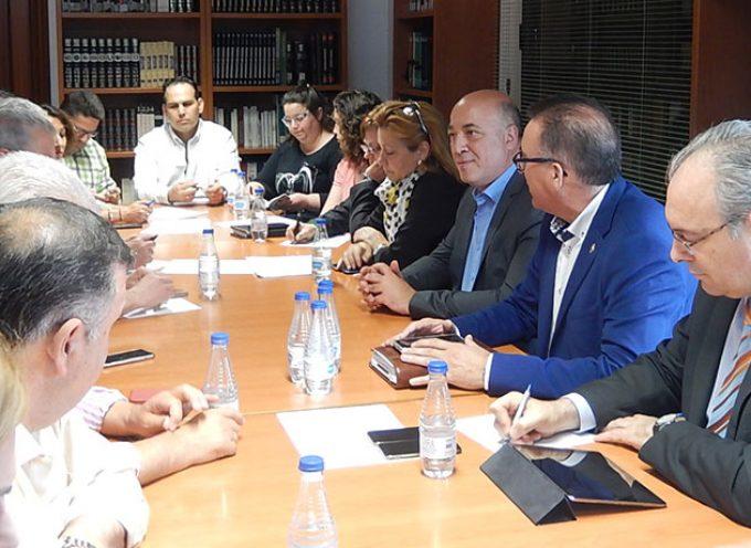 El PSOE de Córdoba se reúne con los secretarios generales del PSOE en Los Pedroches