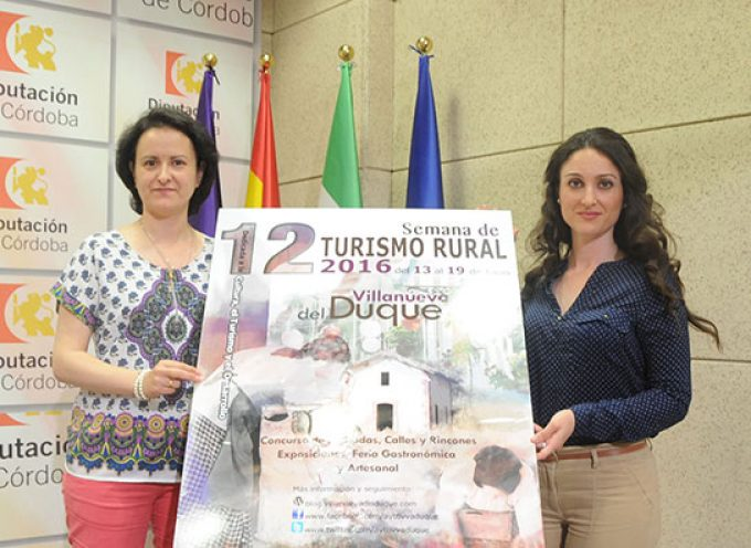 Presentada la 'Semana de Turismo Rural de Villanueva del Duque'