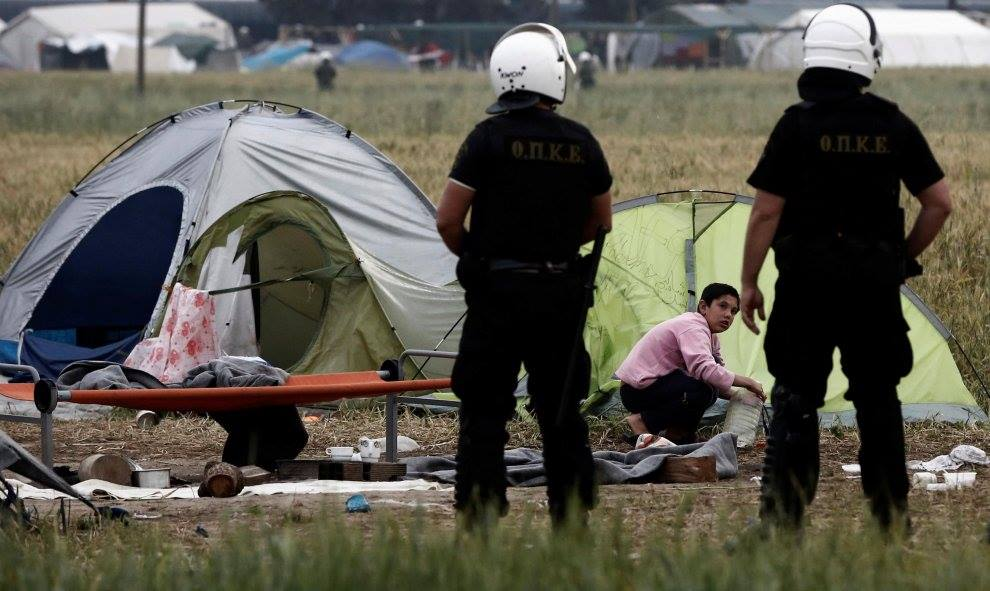 campo de refugiados sirios en Filippiada