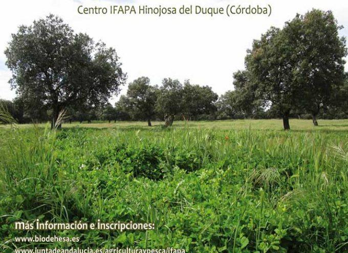 Un curso sobre gestión de pastos en la dehesa en Hinojosa del Duque