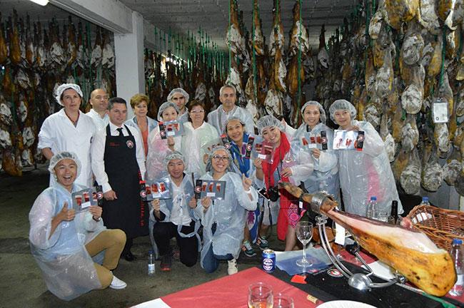 Periodistas y blogueros chinos visitan Los Pedroches