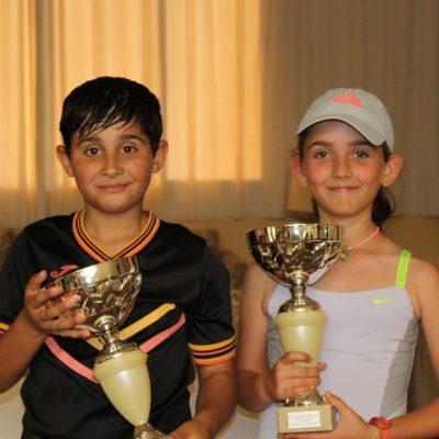 Candela Yécora y Alejandro López acceden al stage del Centro de Tecnificación de la Federación Andaluza de Tenis