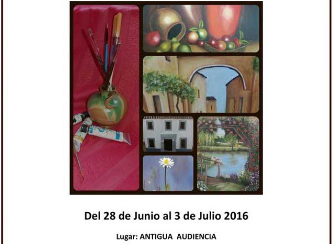 En Villanueva de Córdoba se exponen resultados de los talleres de pintura y restauración de muebles