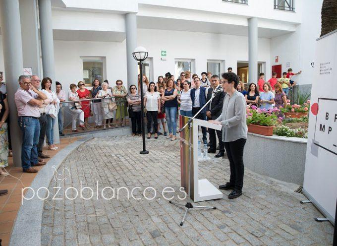 El Ayuntamiento de Pozoblanco inaugura la ampliación de la biblioteca tras una invertir unos 720.000 euros
