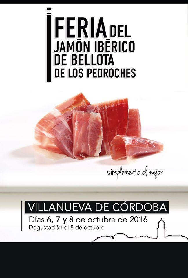 Cartel de la Feria del Jamón
