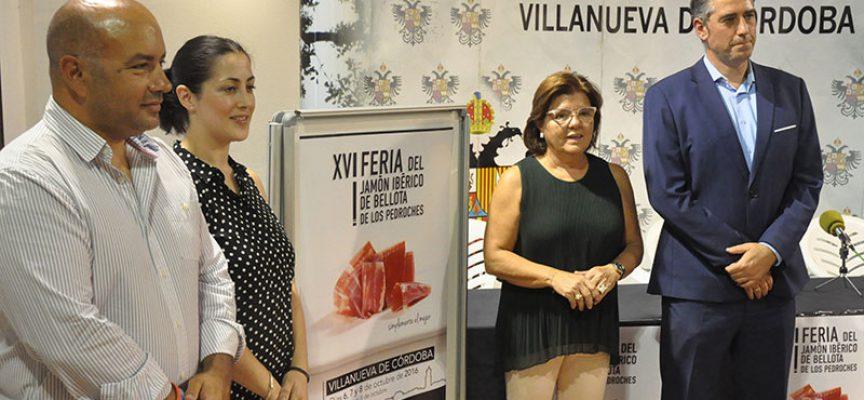 Asunción Rojas presenta una imagen 'limpia y directa' para el cartel de la Feria del Jamón