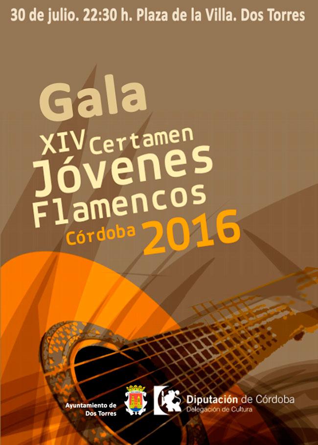 XIV CERTAMEN DE JÓVENES FLAMENCOS DE LA PROVINCIA DE CÓRDOBA 2016