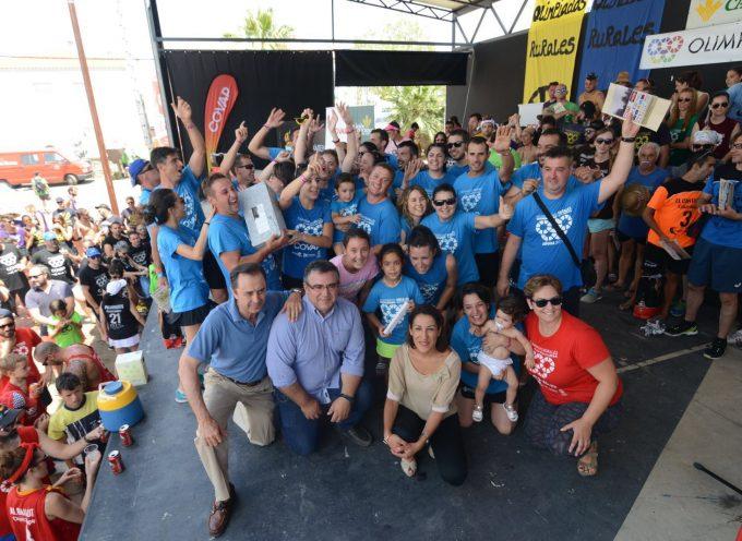 La Cabaña gana las Olimpiadas Rurales tras un final muy competido