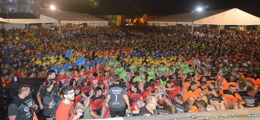 Más de 5.000 personas asisten a la gala inaugural de las Olimpiadas Rurales