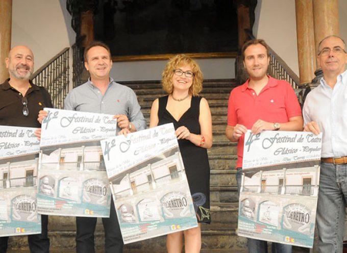 Presentado el Festival de Teatro Clásico Popular de Dos Torres en Diputación