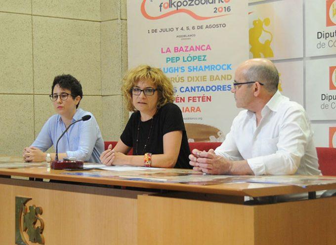Presentada la XXVIII edición de 'Folk Pozoblanco' en Diputación
