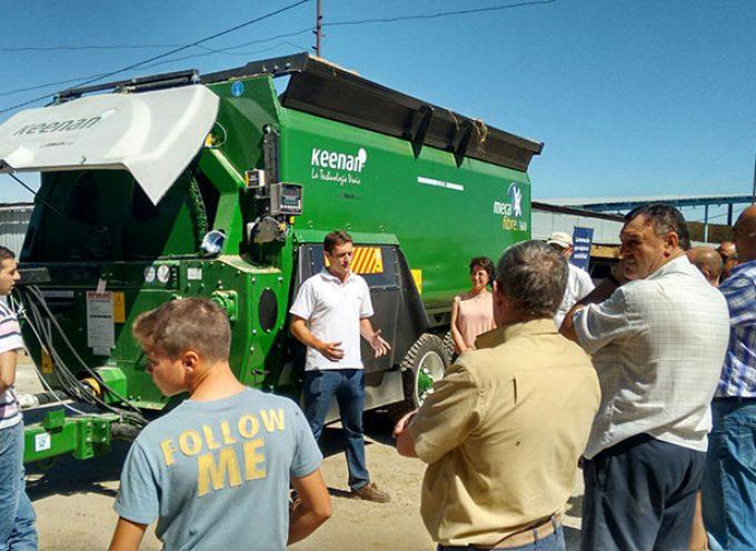 Alltech elige Los Pedroches para presentar su 'Máquina verde' en el sur de España