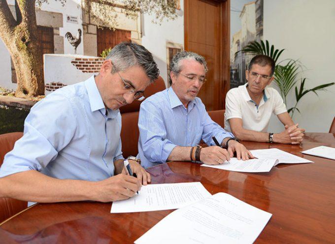 El Ayuntamiento de Pozoblanco firma convenio con Prode para desarrollar un programa de atención temprana