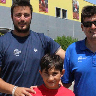 Alejandro López participa en el Stage Sub 10 de la Federación Andaluza de Tenis