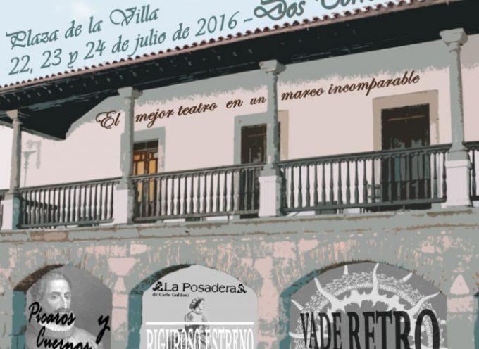 Ya a la venta las entradas para el IV Festival de Teatro Clásico – Popular de Dos Torres