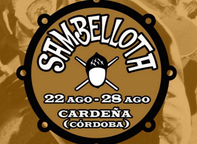 Sambellota, música brasileña en Cardeña