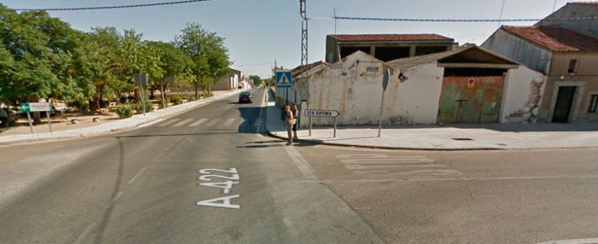 Accidente de tráfico en Belalcázar