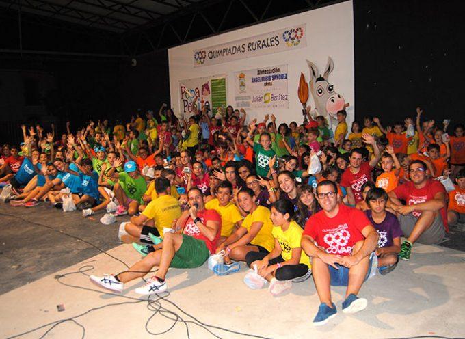 Las miniolimpiadas rurales alcanzan una participación de 162 niños