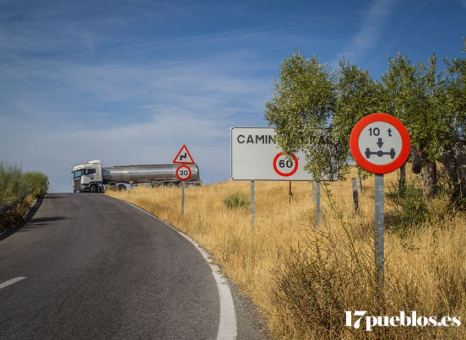 El Ayuntamiento de Pedroche pide el arreglo de la carretera a Pozoblanco y la de Villanueva de Córdoba