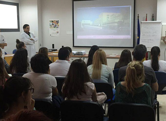 El Hospital Valle de los Pedroches acoge a estudiantes en prácticas de Cuidados de Enfermería y Técnicos de Laboratorio