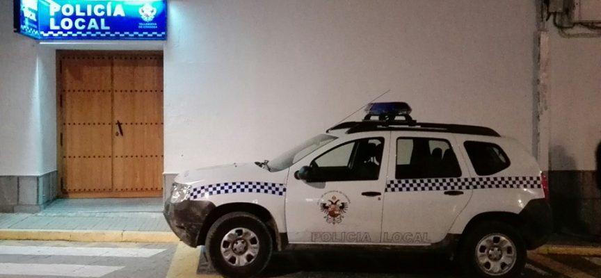 Controles del uso del cinturón de seguridad en Villanueva de Córdoba