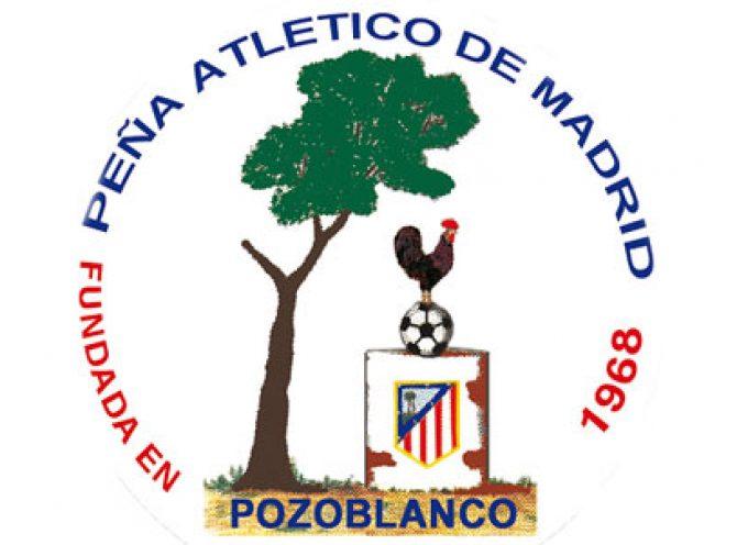 La Peña Atlético de Madrid de Pozoblanco otorga el trofeo a la regularidad a Valentín