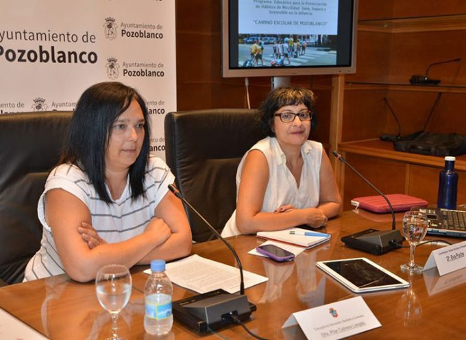 La concejalía de Educación de Pozoblanco fomentará que los escolares hagan su trayecto al colegio a pie
