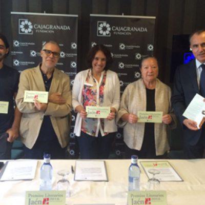 La novela 'Los perros de la eternidad', de López Andrada, Premio Literario Jaén 2016