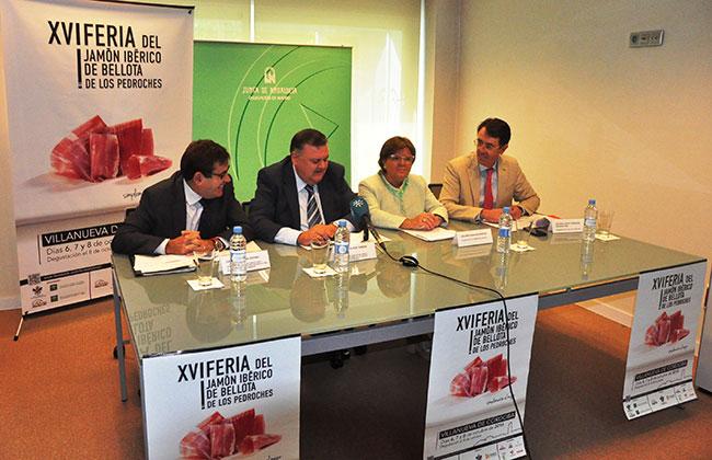 presentación de la Feria del Jamón en Madrid