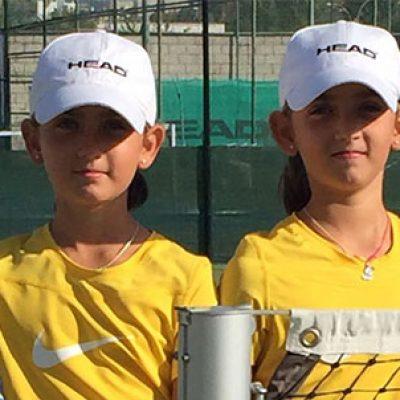 La tenista Candela Yécora, campeona de Córdoba Sub 10