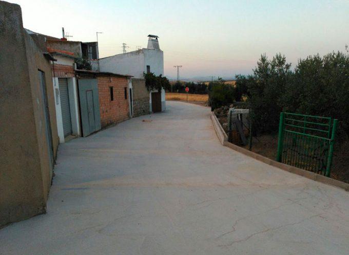 El  Ayuntamiento de Villaralto finaliza las obras de mejora en la calle Donantes de Sangre