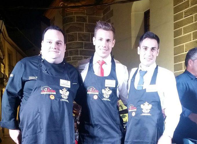 David Cano Serrano, de Villanueva de Córdoba, ha ganado el concurso comarcal al mejor cortador de jamón