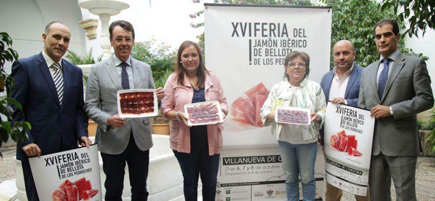Presentada la Feria del Jamón Ibérico de Bellota de Los Pedroches en Diputación