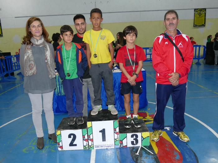 El Club Atletismo Pozoblanco Ginés triunfa en Peñarroya Pueblonuevo