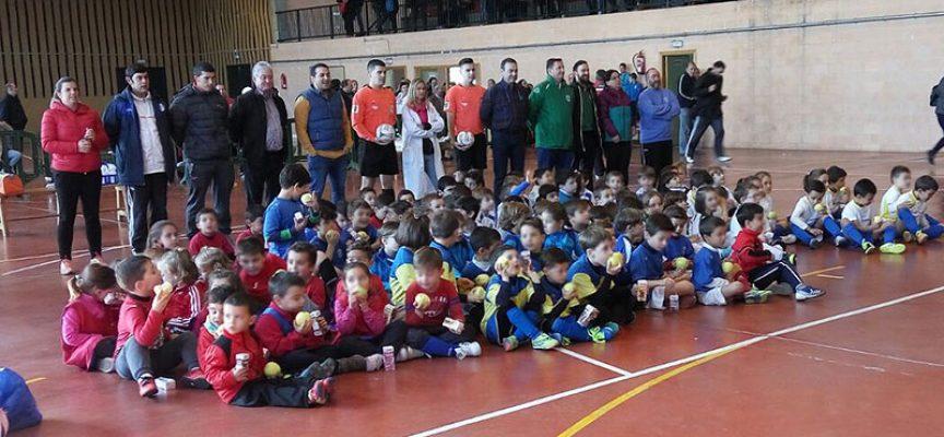 El programa de promoción del Fútbol Sala para 'bebés' ha pasado por Pedroche