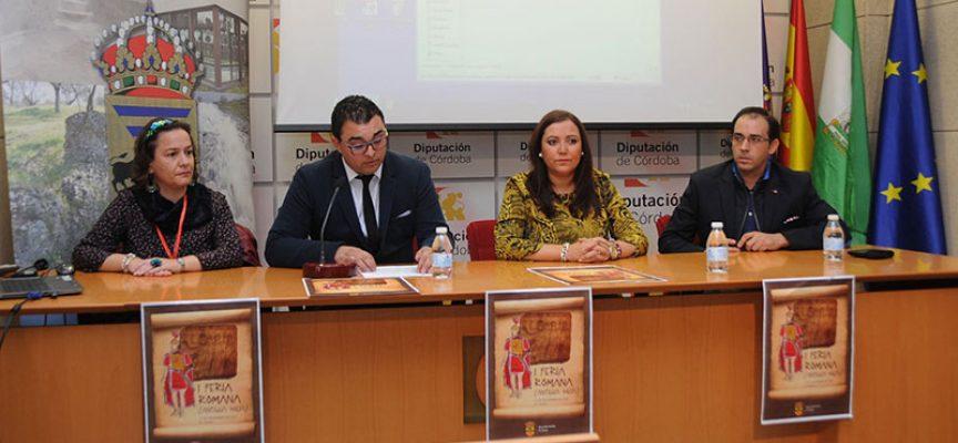 Presentada la I Feria Romana de El Guijo en la Feria de los Municipios