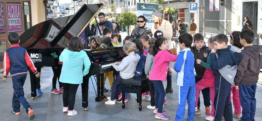 Éxito de la iniciativa 'Pianos en las calles'