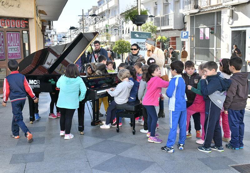 Pianos en las calles