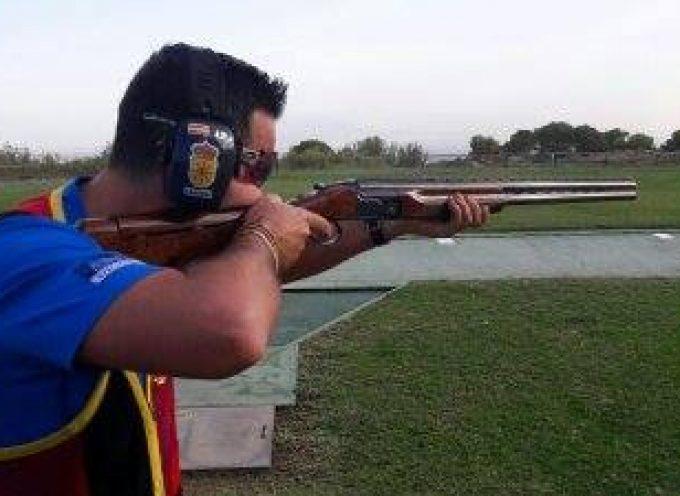 Cardeña en el Campeonato del Mundo de Tiro en Foso Olímpico Militar