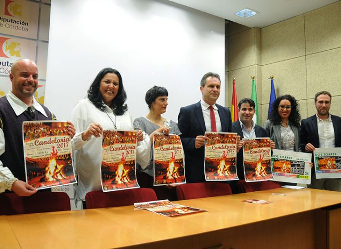 Dos Torres presenta su fiesta de la Candelaria en la Feria de los Municipios