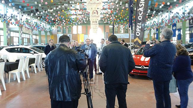 La IX Feria de los Vehículos de Ocasión en Pozoblanco