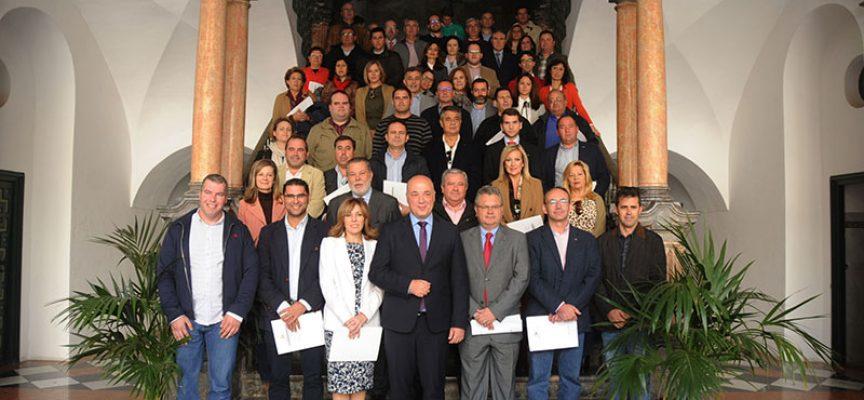Convenios con Diputación para proyectos excepcionales en Los Pedroches