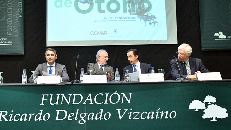 La figura de Echegaray abre las Jornadas de Otoño de la Fundación Ricardo Delgado Vizcaíno