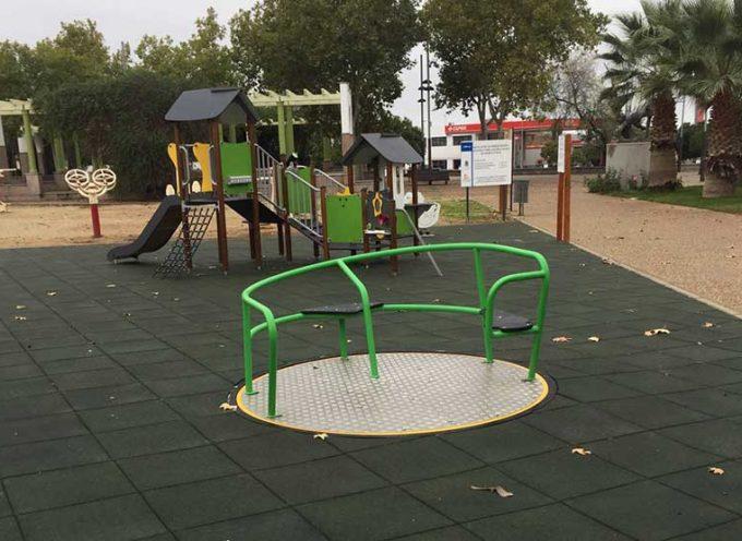 Se abre el primer parque infantil adaptado para niños con discapacidad en Pozoblanco