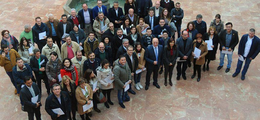 La Diputación firma las Addendas a los convenios del IPBS en materia de Ayuda a Domicilio