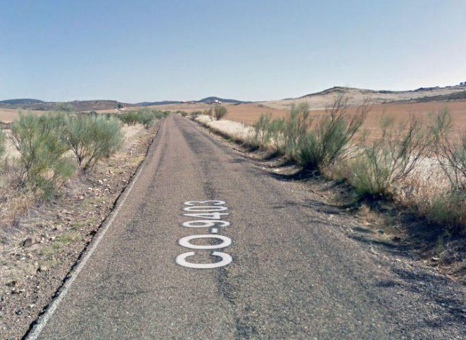 La Diputación de Córdoba reparará un nuevo tramo de la CO-9403 por Belalcázar y El Viso