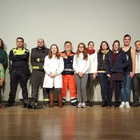 Alumnos de Hinojosa del Duque, Belalcázar y Dos Torres participan en el Road Show para evitar conductas de riesgo