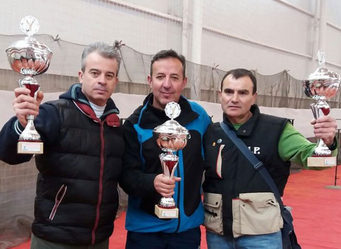 El equipo de Los Pedroches, campeones en el I Campeonato de Tirachinas Nacional de Peñas, en Barrax