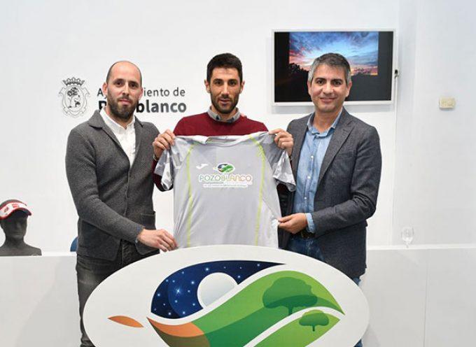 El deportista David Calero, nuevo embajador de la 'Marca Pozoblanco'